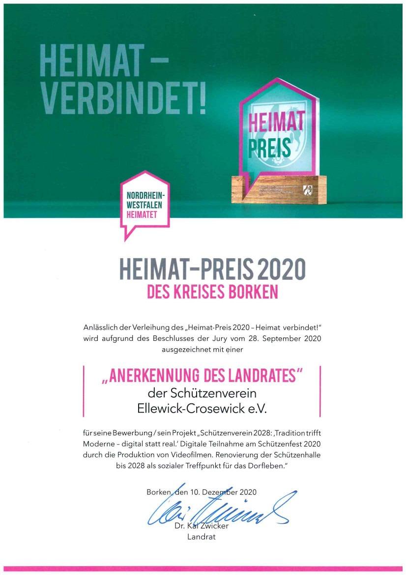 Heimatpreis 2020