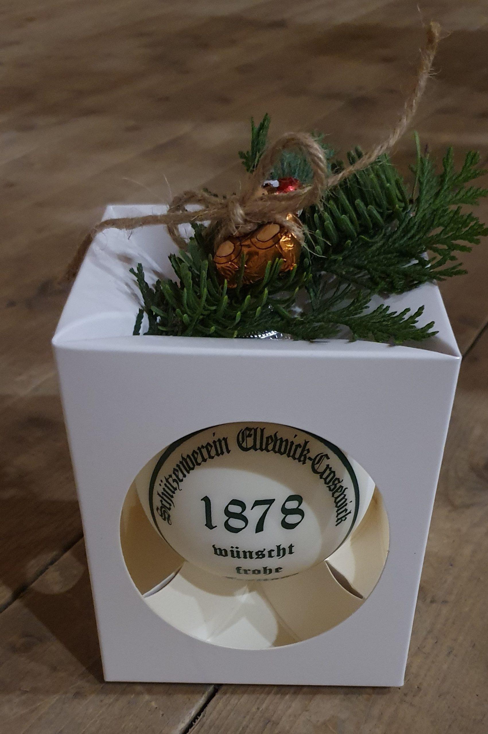 Ein Orden für den Weihnachtsbaum