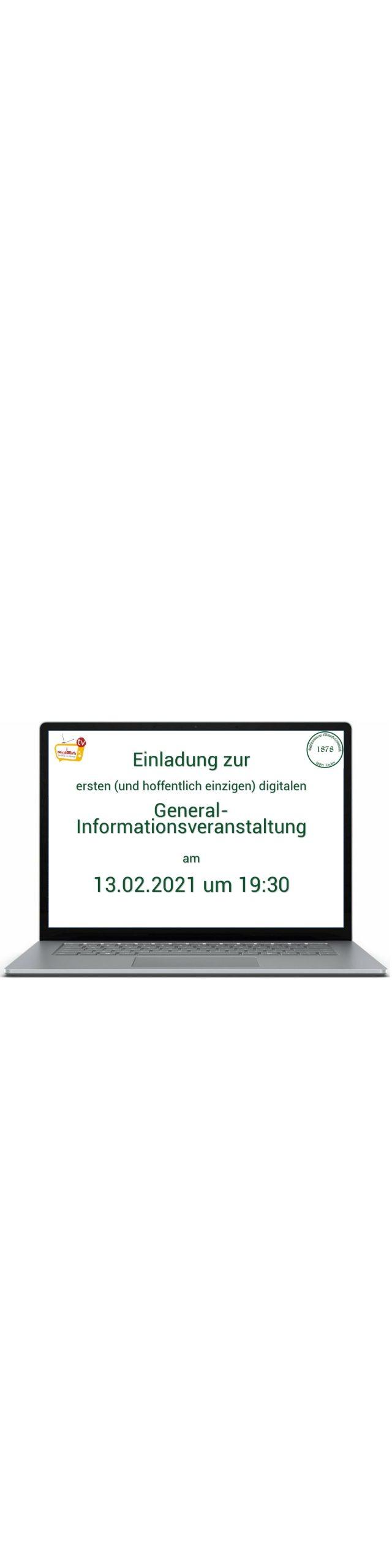 Generalinformationsveranstaltung 2021